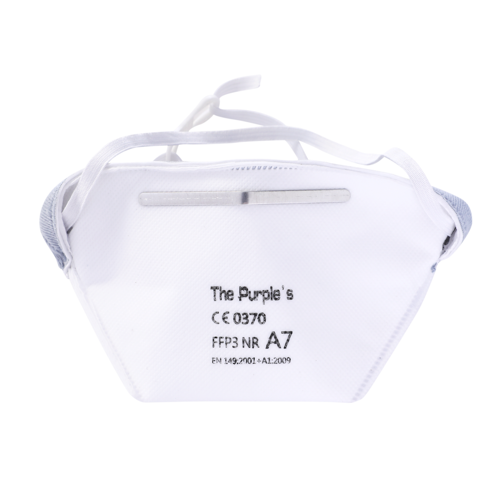 FFP3鸭嘴带阀防护口罩   A7款